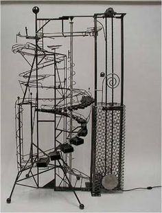 The Short Wave: Kinetic Art Motorized Ball Machine Sculptures by Bruce Gray