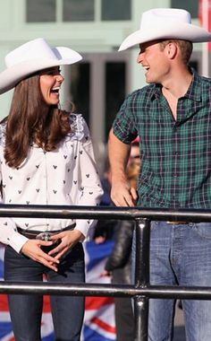 Prince William   Kate Middleton from Stars in Cowboy Hats 6d15851e309e