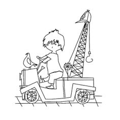 Leuk voor kids | Pluk van de Petteflet kleurplaat Crafts For Kids, Arts And Crafts, Dutch Artists, Colouring Pages, Schmidt, Cute Drawings, Embroidery Patterns, Childrens Books, Creative