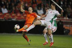 Nederland - Hongarije (Arjen Robben)