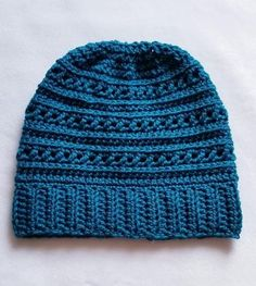Crochet Beanie Ideas The Guernsey Beanie Pattern Release – Daisy Stitch Co Beanie Pattern Free, Crochet Beanie Pattern, Crochet Patterns, Mens Crochet Beanie, Crochet Ideas, Crochet Adult Hat, Free Crochet, Easy Crochet Hat, Crochet Winter