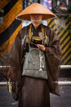 Japanese Buddhist Monk by João Maia