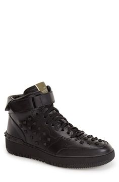 Valentino Studded High Top Sneaker (Men) available at #Nordstrom