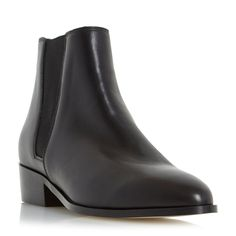 ceb294882aa Dune Pearce pointed toe leather chelsea boots