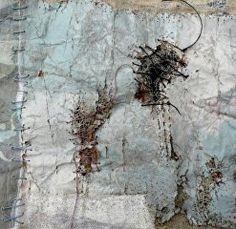Shelley Rhodes - I love this patching A Level Textiles, Types Of Textiles, Reflective Journal, Encaustic Art, Light Of Life, Handmade Books, Textile Artists, Urban Art, Collage Art