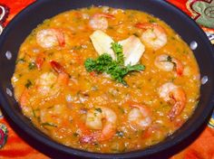 Shrimp Bobo: a traditional Brazilian dish eaten three days before Ash Wednesday during the Carnival in Brazil. Such a flavor explosion...enjoy!