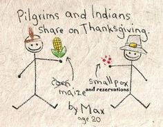 Pilgrims-and-Indians Thanksgiving