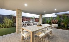 Love outdoor entertaining? The large alfresco has you covered