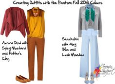 How to Wear the Pantone Colours for Fall 2016 - Inside Out Style