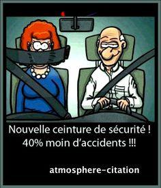 Nouvelle ceinture de sécurité ;-)!