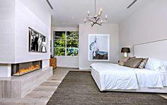 Uma impressionante mansão arquitetônica em Beverly Hills