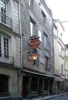 Paris 3e - 51 rue de Montmorency - Auberge Flamel (ancienne maison de Nicolas Flamel) -
