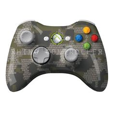 XBOX 360 controller Wireless Glossy WTP-703-KUIU-Verde Custom Painted- Without Mods