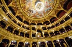 AFAR.com Highlight: Art and History Collide at the Hungarian State Opera in Budapest by Alison Cornford-Matheson