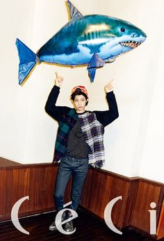 Jung Joon Young - Ceci Magazine November Issue '13