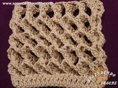 Ponto de Crochê 3D - Receita de Croche com o Passo a Passo no Link http://www.aprendendocroche.com/receitas-de-croche/video-aula.asp?resid=1431&tree=2