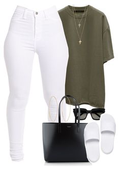"""Untitled #1566"" by power-beauty ❤ liked on Polyvore featuring Yves Saint Laurent, Puma and Lana"