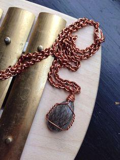 gold rutilated quartz in silver necklace soul eye jewelry. Modern Zen Ocean jasper one of a kind necklace statement necklace
