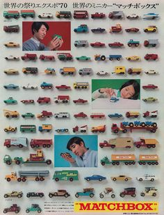 Matchbox, Japan, 1970. | Flickr - Photo Sharing!