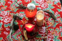 """""""How to Create a Red Tent Altar"""" An Altar can be your own private Sacred Space in your home, or work place, or a group altar in a shared space, or the central altar or direction altars in a ceremony. In holding a Red Tent you may like to create a central altar around which you will sit as a group. READ MORE: https://redtentmovie.wordpress.com/2015/03/17/how-to-create-a-red-tent-altar/"""