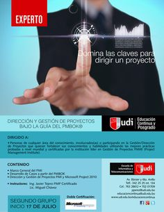 UDI - Experto en Dirección y Gestión de Proyectos con PMBOK - 2DO. GRUPO