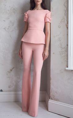 Get inspired and discover Safiyaa trunkshow! Shop the latest Safiyaa collection at Moda Operandi. Pink Fashion, Couture Fashion, Womens Fashion, Woman Outfits, Chic Outfits, Fashion Clothes, Fashion Dresses, Safiyaa, Striped Shirt Dress