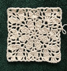 Crochet Squares 79297 Ravelry: Daisy Square One Crochet Square Blanket, Crochet Squares Afghan, Crochet Quilt, Granny Square Crochet Pattern, Crochet Blocks, Crochet Stitches Patterns, Doily Patterns, Crochet Chart, Filet Crochet