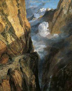 J.M.W.Turner「Pass of St. Gotthard」(1803)