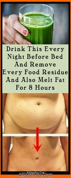Drink This Every Night Before Bed And Remove Every Food Residue And Also Melt Fat For 8 Hours #health #fat #body #weight #beauty #fitness #diy