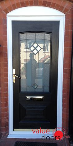 What do you think to this Ultimate Portland Rockdoor in Onyx Black with Beacon