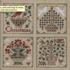The Drawn Thread ~ Christmas Baskets