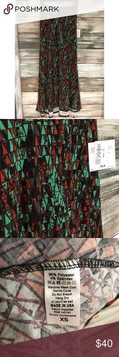 LuLaRoe Maxi Skirt LuLaRoe Maxi Skirt. Soft and stretchy fabric. LuLaRoe Skirts Maxi