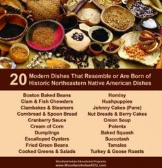 20 Historic Northeastern Native Dishes