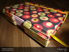Caderno Artesanal Longstitch