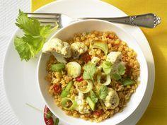 Linsen-Curry mit Blumenkohl