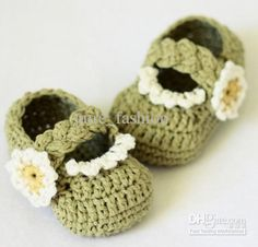 Crochet Baby Shoes Patterns