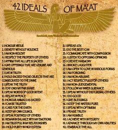 Egyptian Goddess Maat via Natalie Glasson: The Theory of Balance - Ashtar Command - Spiritual Community Network