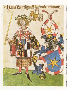 Brandenburg Purvsuivant, (1413-1471) London. BL; ms Add 15681 Folio154v Neubecker (pg 19)
