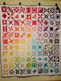 Farmer's Wife Quilt by Littlebook Notes, via Flickr
