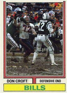 Don Croft Buffalo Bills