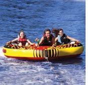 Airhead Transformer 3 Person Boat Towable Dual Purpose Tube