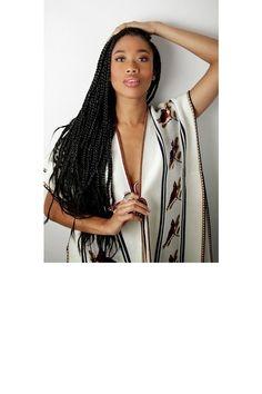 Les longues, très longues tresses Cheap Hair Extensions, Crochet Hair Extensions, Braid In Hair Extensions, Box Braids Hairstyles, Curly Crochet Hair Styles, Glamour, Braid Styles, Hair Inspo, Locks