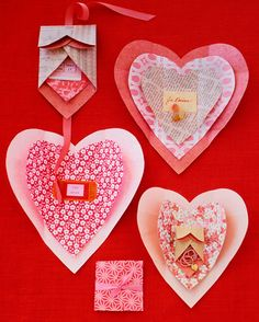 Kids can use our heart template to create gift-pocket valentines, cards, and decorations out of construction or origami paper. Print the Heart Template