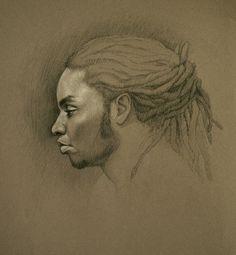 Natural hair art by Sara Golish. #officiallynatural