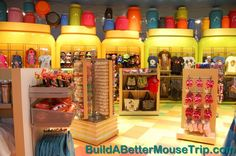 Ink & Paint Gift Shop at Disney's Art of Animation Resort. - For more resort photos & information, see: http://www.buildabettermousetrip.com/disneys-art-of-animation #artofanimationresort #DisneyWorld