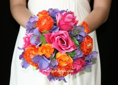 Bright Wedding Flower Color