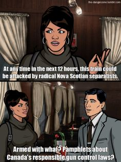 Archer /// Oh Canada, how I would love to live there. Gabriela