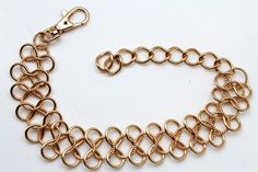 Gold / Silver Metal Boot Bracelet Chain Link Wide Bling Anklet Shoe Charm New Women Western Style