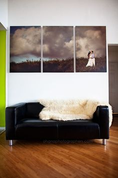3 45x30 panel canvases. wedding in maui #hawaii  http://ohanablog.com/?s=joann+and+dan