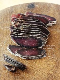 magret seche seche maison Duck Recipes, Raw Food Recipes, Meat Recipes, Cooking Recipes, Charcuterie, Cold Brew Coffee Maker, Meat Appetizers, Real Coffee, Dehydrated Food